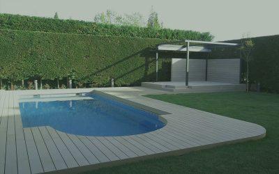 Tarimas Exteriores Sintéticas para vestir terrazas y  jardines