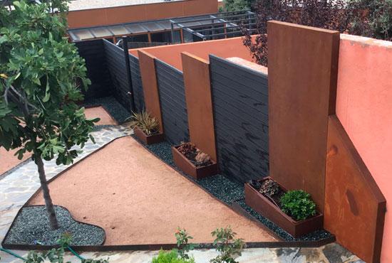 paneles-jardin-acero-corten-vivero-el-achabuelo